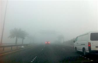 إغلاق طريق (الزعفرانة / رأس غارب) لانعدام الرؤية وسوء الأحوال الجوية