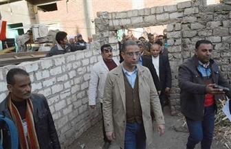 """محافظ سوهاج يتفقد قرية بناويط لمتابعة لجان مبادرة """"حياة كريمة"""" للقرى الأكثر فقرا   صور"""