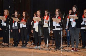 الاحتفال بذكرى مولد المسيح ورحلة العائلة المقدسة بالمجمع الثقافي بمدينة كفرالشيخ | صور