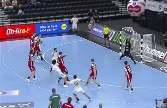 مصر تتأخر بهدف أمام النرويج في الدقيقة 25