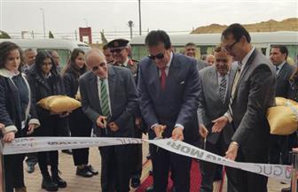 الرئيس السيسى ينيب وزير التعليم العالي لافتتاح مراكز توطين التكنولوجيا بالجامعة الألمانية | صور