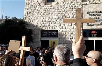 """إسرائيل تزيل تمثال """"ماك يسوع"""" بعد اعتراضات من المسيحيين"""