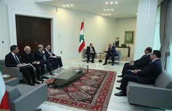 أبو الغيط يعرب في لقائه مع الرئيس اللبناني ميشال عون عن تطلعه إلى نجاح قمة بيروت