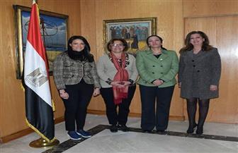 وزيرة السياحة تلتقى مديرة برنامج الأمم المتحدة الإنمائي لبحث سبل التعاون المشترك| صور