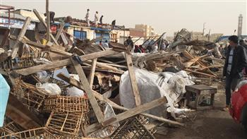 بدوى: حملة مكبرة لإزالة أكبر تجمع عشوائي بمدينة برج العرب الجديدة