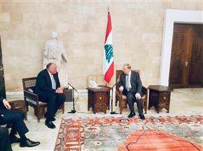 وزير الخارجية يؤكد التزام مصر الكامل بدعم ومساندة لبنان