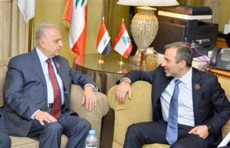 وزير الخارجية العراقي يبحث مع نظيره اللبناني العلاقات الثنائية بين البلدين