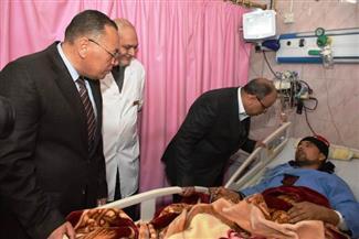 وزير التنمية المحلية ومحافظ الشرقية يتفقدان وحدة القسطرة القلبية بمستشفى الزقازيق العام  صور