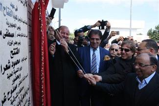 وزير التنمية المحلية ومحافظ الشرقية يفتتحان محطة صرف عرب الفدان بأبو حماد |صور