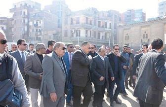 وزير التنمية المحلية ومحافظ الشرقية يتفقدان أعمال تطوير منطقة القناطر التسعة وميدان الصاغة |صور