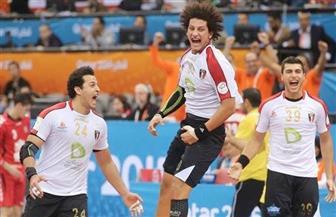 الشوط الأول.. مصر تتأخر أمام الدنمارك بفارق هدفين في كأس العالم لكرة اليد