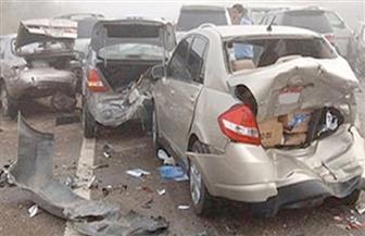 """مصرع وإصابة 3 أشخاص في حادث تصادم أعلى """"الدائري"""""""