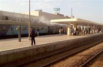 السكة الحديد: عربة ربع نقل تقتحم شريط السكة الحديد على خط (الصالحية / الزقازيق)