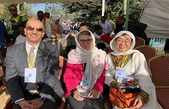 سفير مصر بأديس أبابا يشارك في احتفالات عيد الغطاس بالكنيسة الإثيوبية | صور