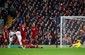 كريستال بالاس يحرز هدف التعادل في مرمى ليفربول