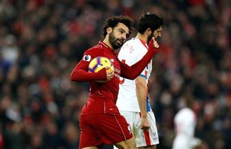 محمد صلاح ينفرد بصدارة هدافي الدوري الإنجليزي