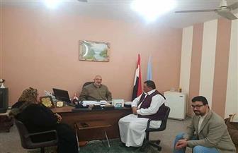 """""""المصريين الأحرار"""" يناقش مشاكل المواطنين بالتضامن الاجتماعي في مطروح"""