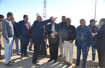 محافظ السويس يقرر إنشاء المسجد الجامع بمدينة التوفيق بحي عتاقة   صور