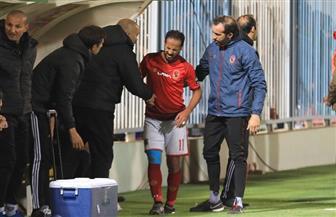 طبيب الأهلي: إصابة وليد سليمان بجذع في رباط الركبة