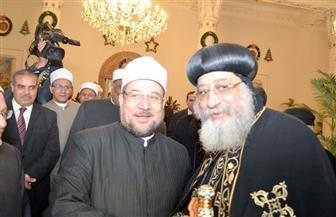 وزير الأوقاف عقب تهنئة البابا تواضروس بعيد الميلاد: زيارتي أبلغ رد عملي على الجاهلين والمتشددين