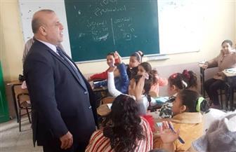 وكيل وزارة التربية والتعليم يتفقد لجان الامتحانات بالمنصورة| صور
