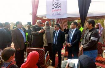 صندوق تحيا مصر ينظم احتفالية في الوادي الجديد ويوزع 35 طنا من لحوم الهدي على الأسر الأكثر احتياجا مجانا  صور