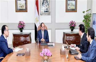 الرئيس السيسي يناقش خطة وزارة التعليم العالي لتطوير الجامعات مع مدبولي وعبد الغفار