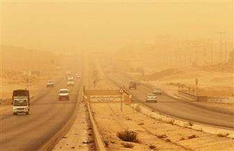 """""""المرور"""": فتح جميع الطرق المغلقة بعد زوال العاصفة الرملية"""