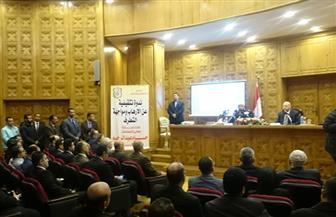 وزير العدل: دحر الفكر المتطرف لا يقل عن معركة مواجهة الإرهاب   صور