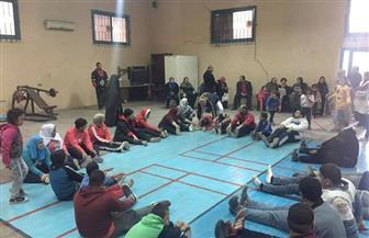 """""""مستقبل وطن"""" ينظم يوما ترفيهيا ورياضيا لذوي الإعاقة في بني سويف"""