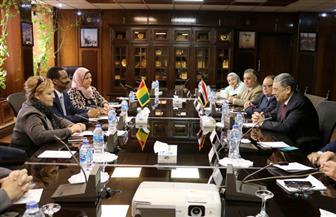 وزيرالكهرباء يلتقي نظيره الغيني لتعزيز التعاون بين الطرفين