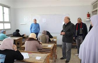 إحالة رئيس لجنة امتحانات بقطور الغربية و3 ملاحظين ومسئول الأمن للتحقيق | صور