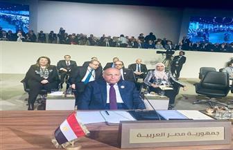 وزير الخارجية يؤكد أهمية العمل العربي المشترك لوضع إستراتيجيات وبرامج عملية وملموسة لتحقيق التنمية