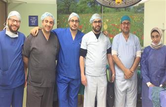 فريق طبي بمستشفى جامعة كفرالشيخ ينجح في استئصال ورم كبير من لسان طفل رضيع
