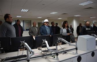 افتتاح المبنى الإداري لمحطة توليد كهرباء غرب بدمياط | صور