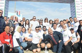 وزيرة الهجرة تشارك في ماراثون خيري مع شباب المصريين بالخارج لصالح مستشفى شفاء الأورمان بالأقصر | صور