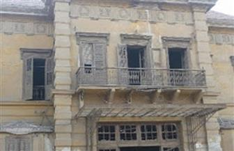 رئيس حي حلوان يتفقد قصر الأميرة خديجة