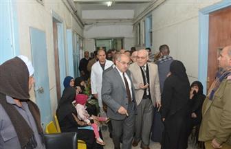 رئيس جامعة أسيوط: المستشفيات الجامعية بالمحافظة تستقبل مليوني مريض سنويا | صور