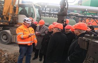 وزراء الإنتاج الحربي والتنمية المحلية والبيئة ورئيس العربية للتصنيع يزورون شركة BSR خلال جولتهم بألمانيا