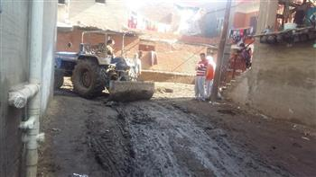 رفع مخلفات القمامة من شوارع قرى الحامول وبيلا بكفر الشيخ| صور