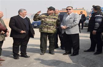 محافظ بني سويف: 94 % نسبة تنفيذ محور عدلي منصور والانتهاء من المشروع في مارس المقبل| صور