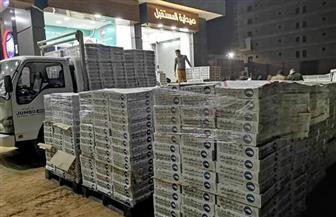 """""""مستقبل وطن"""" يستكمل توزيع 10 آلاف كرتونة غذائية لطرحها بأسعار مخفضة بالشرقية"""
