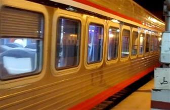 السكك الحديدية: انتظام حركة القطارات وعدم تأثرها بسقوط بعض عربات قطار بضائع بخط الواحات