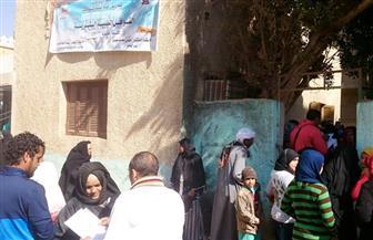 علاج 660 حالة في قافلة جنوب الوادي الطبية بقرية القبيبة بقنا | صور