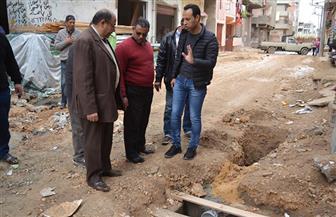 خطة لصيانة المطابق وصفايات المطر  بشوارع بلطيم| صور