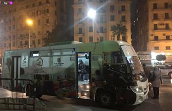 """""""بوابة الأهرام"""" ترصد 7 مشاهد من داخل سيارة """"التضامن الاجتماعي"""" لإنقاذ المشردين   فيديو"""