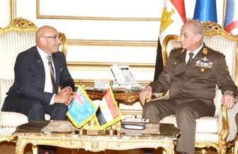 الفريق أول محمد زكي يبحث التعاون العسكري مع وزير الدفاع النيوزيلندي