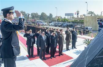 محافظ الإسكندرية يضع إكليل الزهور على النصب التذكاري لشهداء الشرطة| صور