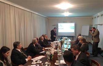 الوفد الوزاري بألمانيا يواصل زيارته لعدد من شركات تدوير المخلفات بمدينة كولن| صور