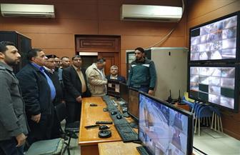 رسلان يهنئ قيادات شرطة السكة الحديد بعيد الشرطة خلال تفقده محطة القاهرة | صور